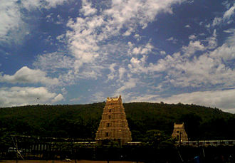 Nallamala Hills - Image: Mahanandi Temple View