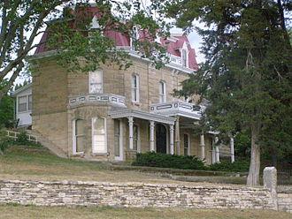 Tallgrass Prairie National Preserve - Image: Main House P5300374