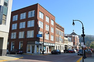 Pikeville, Kentucky - Main Street in Pikeville