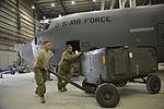 Maintainers keep C-130J Super Hercules flying in Afghanistan 141103-F-LX971-086.jpg