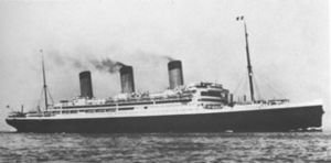 Ocean liner - RMS ''Majestic'' (formerly Bismarck of 1914)