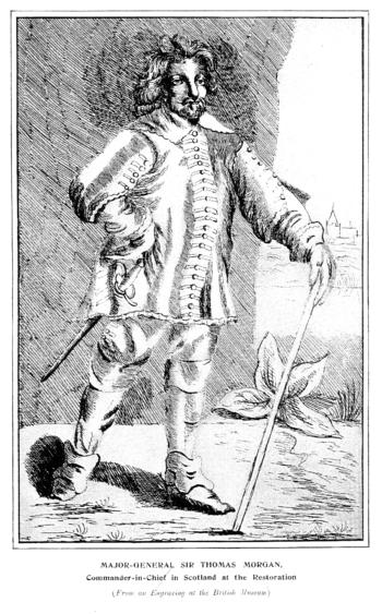 Sir Thomas Morgan 1st Baronet Map The Full Wiki