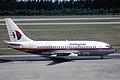 Malaysia Airlines Boeing 737-2H6; 9M-MBF, March 1990 CQO (5288117571).jpg