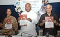 """Mallikarjun Kharge releasing a Training Manual for Enterprises, at the inauguration of the Workshop on """"Prevention of HIVAIDS in the world of Work – A Tripartite Response"""", in New Delhi on September 09, 2009.jpg"""