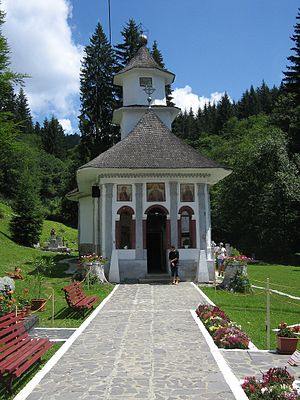 Predeal - Image: Manastirea Predeal Biserica