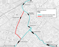 Manchester Metrolink Second City Crossing map.png