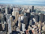 Manhattan, view from Empire State Building