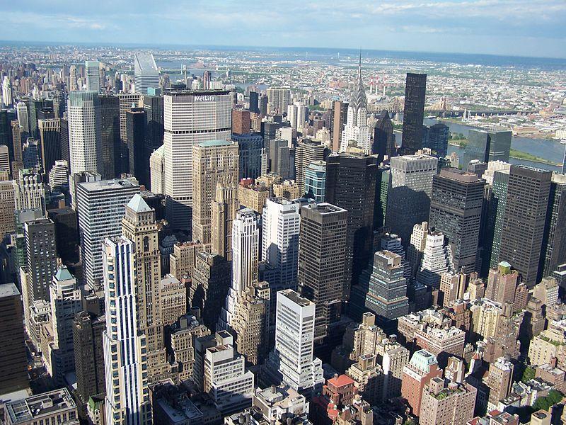 Fichier:Manhattan, view from Empire State Building.jpg