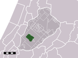 The town of Nieuw-Vennep in the municipality of Haarlemmermeer