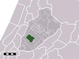 Nieuw-Vennep - Image: Map NL Haarlemmermeer Nieuw Vennep