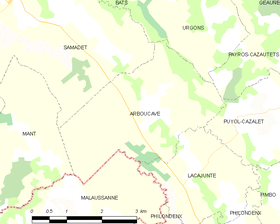 Map commune FR insee code 40005.png