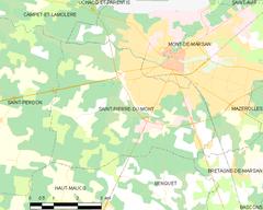 Map commune FR insee code 40281.png