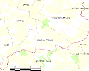 Map commune FR insee code 53095.png