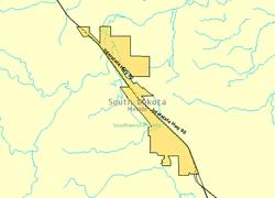 Summerset South Dakota Wikipedia - South dakota us map