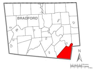 Wilmot Township, Bradford County, Pennsylvania Township in Pennsylvania, United States