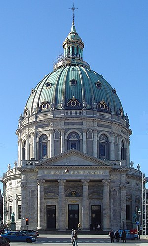 Church of Denmark - The Marble Church is an iconic landmark in Copenhagen