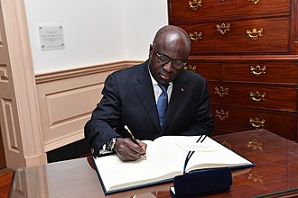 Minister of Foreign Affairs (Ivory Coast) - Image: Marcel Amon Tanoh 2018
