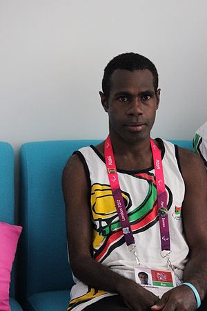 Vanuatu at the 2012 Summer Paralympics - Marcel Houssimoli in London