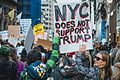March against Trump, New York City (30648647930).jpg