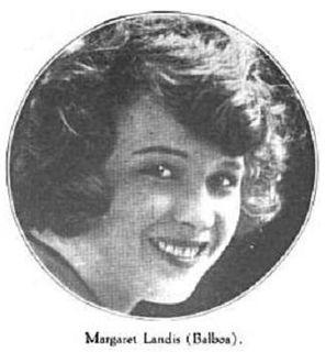 Margaret Landis American silent film actress