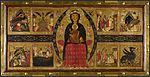 Margaritone d'arezzo madonna and child enthroned with narrative scenes london ng.jpg