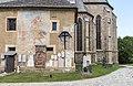 Maria Saal Pfarr-und Wallfahrtskirche Mariae Himmelfahrt Sakristei Aussenwand 24062017 9799.jpg