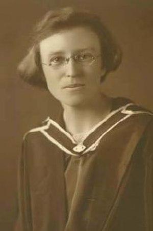 Marie Byles - Marie at Graduation, University of Sydney
