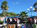 Marigot Market with Fort Louis (6546067085).jpg
