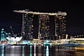 Marina bay sands night skypark 2010.JPG