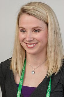 Marissa Mayer, new Yahoo CEO