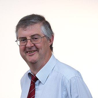 Mark Drakeford, First Minister of Wales since December 2018 Mark Drakeford - National Assembly for Wales.jpg
