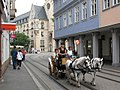 Marktstrasse mit Pferdewagen (Market Street with ponies and cart) - geo.hlipp.de - 14212.jpg