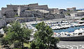 Marseille (France), Fort Saint-Nicolas et Palais du Pharo.jpg