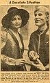 Martine Barrat and Andy Warhol, Daily news.jpg