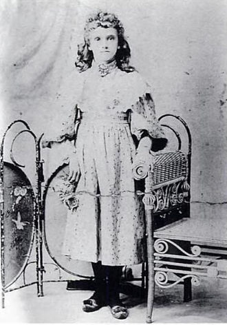 "Little Orphant Annie - Mary Alice ""Allie"" Smith, Riley's inspiration for the poem"