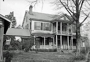 National Register of Historic Places listings in Lauderdale County, Alabama - Image: Mary Mc Farland House (Florence, Alabama)