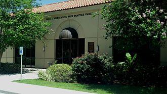 LSU Tigers golf - Mary and Woody Bilyeu Golf Practice Facility