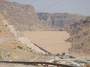 Masjed Soleyman Dam - Image: Masdsched Soleyman Dam