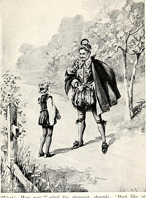 John Bennett (author) - Illustration from a 1909 dramatization of Master Skylark.