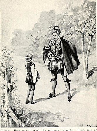 John Bennett (author) - Illustration from a 1909 dramatization of Master Skylark.