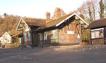 Matlock Bath Train Station Car Park
