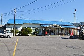 Matsuzaki Station (Tottori) Railway station in Yurihama, Tottori Prefecture, Japan