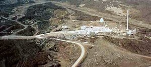 Keeling Curve - Image: Mauna Loa Observatory from air