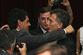 Mauricio Macri asiste a la asunción del Jorge Macri, en Vicente Lopez.- (6501456609).jpg