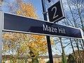 Maze Hill stn signage.JPG