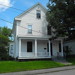 Henry Burr - Burr's childhood home in St. Stephen New Brunswick.
