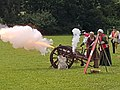 Medieval Cannon being fired (41998964344).jpg