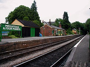 Medstead and Four Marks railway station - Image: Medstead & Four Marks Station