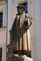 Melanchthon-Denkmal in Nürnberg, 1826 (Quelle: Wikimedia)