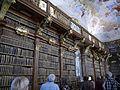 Melk Stift Melk Innen Große Bibliothek 6.JPG